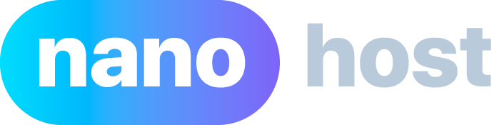 Nanohost - онлайн платформа, которая предоставляет на приобретение домены и хостинг